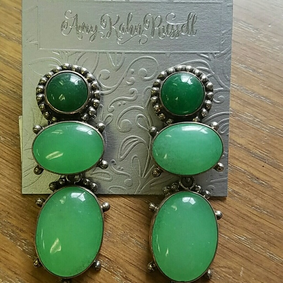 AKR Jewelry - Green Quartz Sterling Amy Kahn Russell Bold Green